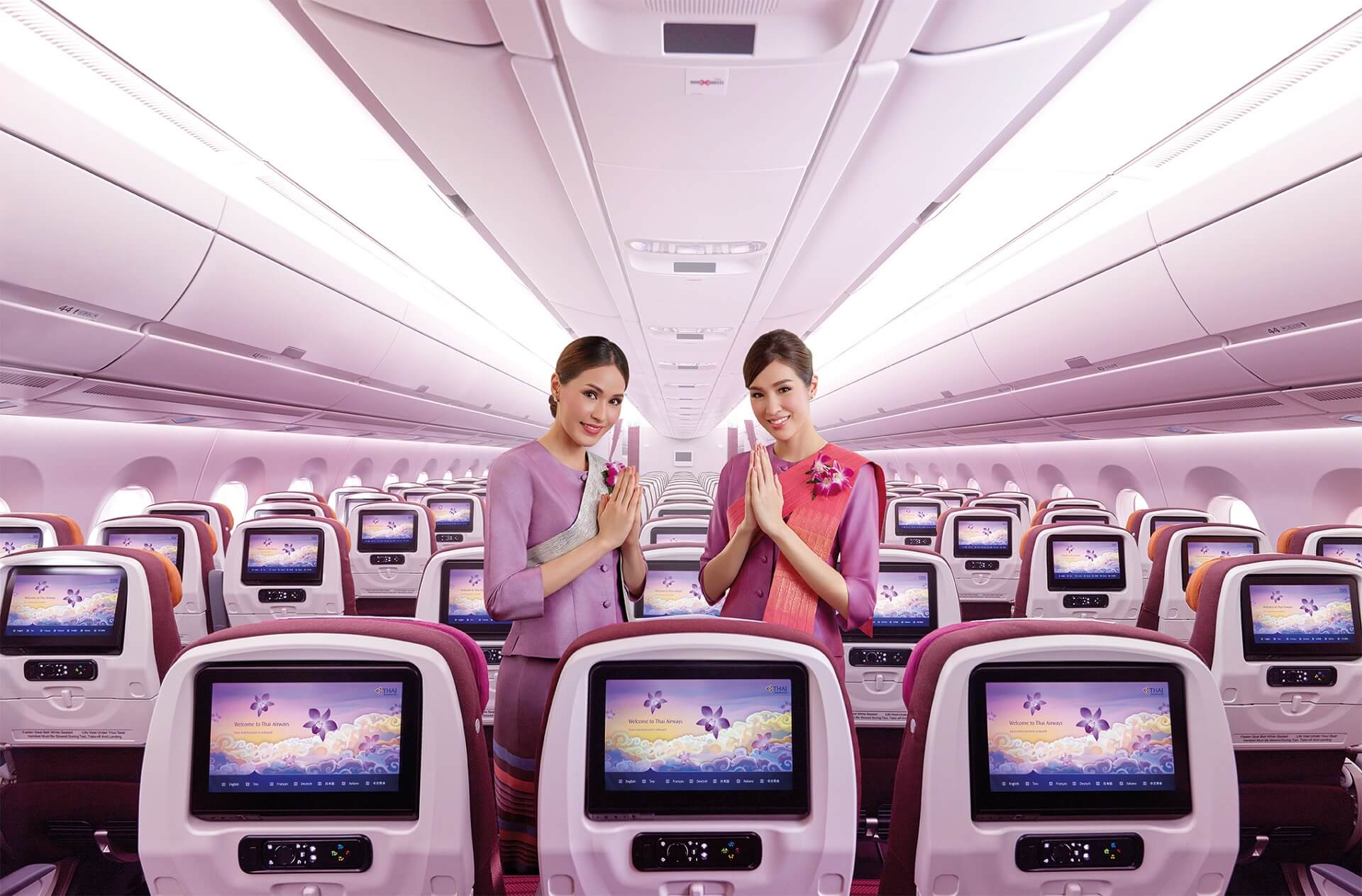 Stewardessen von Thai Airways