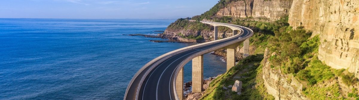 Rundreise in New South Wales, Sea Cliff Bridge Australien