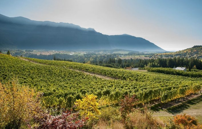 Okanagan Valley in British Columbia