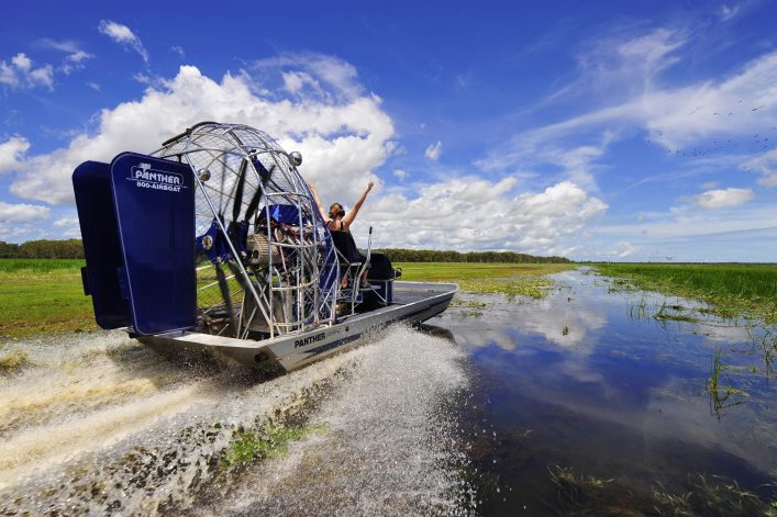 Airboating auf dem Mary River
