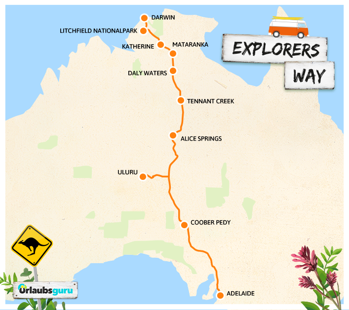 Explorers Way Northern Territory