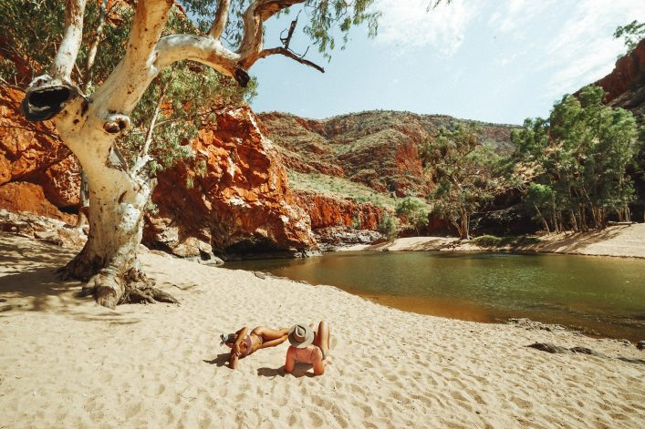 Ormiston Gorge, West MacDonnell Nationalpark